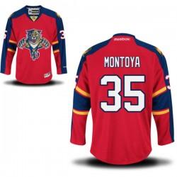 Authentic Reebok Adult Al Montoya Home Jersey - NHL 35 Florida Panthers