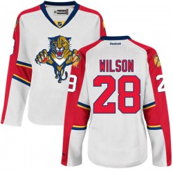 Authentic Reebok Women's Garrett Wilson Away Jersey - NHL 28 Florida Panthers