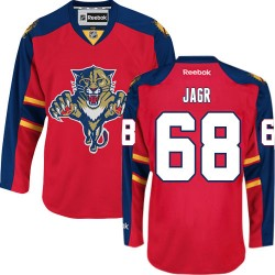 Authentic Reebok Adult Jaromir Jagr Home Jersey - NHL 68 Florida Panthers