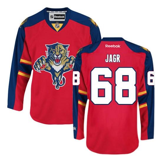 68b674d87b7 Authentic Reebok Adult Jaromir Jagr Home Jersey NHL 68 Florida Panthers.jpg