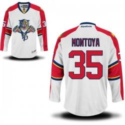 Authentic Reebok Adult Al Montoya Away Jersey - NHL 35 Florida Panthers
