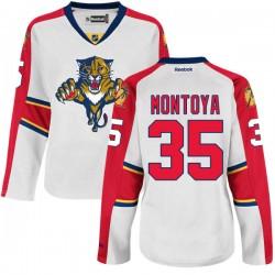 Premier Reebok Women's Al Montoya Away Jersey - NHL 35 Florida Panthers