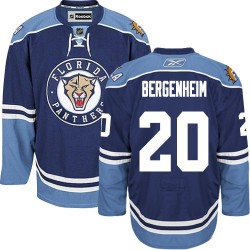 Authentic Reebok Adult Sean Bergenheim Third Jersey - NHL 20 Florida Panthers