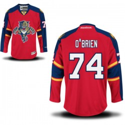 Authentic Reebok Adult Shane O'brien Home Jersey - NHL 74 Florida Panthers