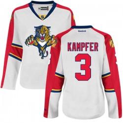 Premier Reebok Women's Steven Kampfer Away Jersey - NHL 3 Florida Panthers