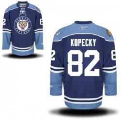 Authentic Reebok Adult Tomas Kopecky Alternate Jersey - NHL 82 Florida Panthers