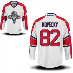 Authentic Reebok Adult Tomas Kopecky Away Jersey - NHL 82 Florida Panthers
