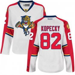 Authentic Reebok Women's Tomas Kopecky Away Jersey - NHL 82 Florida Panthers