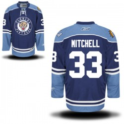 Authentic Reebok Adult Willie Mitchell Alternate Jersey - NHL 33 Florida Panthers