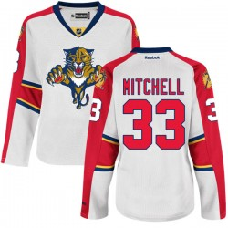 Authentic Reebok Women's Willie Mitchell Away Jersey - NHL 33 Florida Panthers