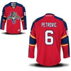 Authentic Reebok Adult Alex Petrovic Home Jersey - NHL 6 Florida Panthers
