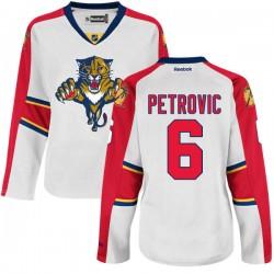 Authentic Reebok Women's Alex Petrovic Away Jersey - NHL 6 Florida Panthers