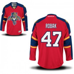 Authentic Reebok Adult Colby Robak Home Jersey - NHL 47 Florida Panthers