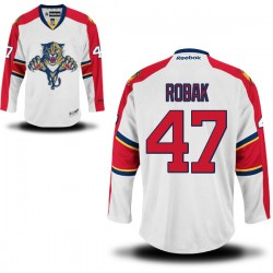 Authentic Reebok Adult Colby Robak Away Jersey - NHL 47 Florida Panthers
