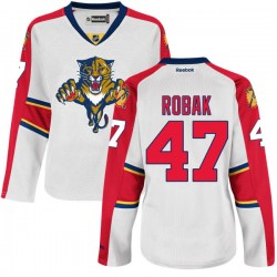 Authentic Reebok Women's Colby Robak Away Jersey - NHL 47 Florida Panthers