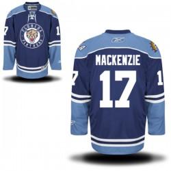 Authentic Reebok Adult Derek Mackenzie Alternate Jersey - NHL 17 Florida Panthers
