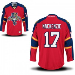 Authentic Reebok Adult Derek Mackenzie Home Jersey - NHL 17 Florida Panthers