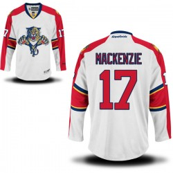 Authentic Reebok Adult Derek Mackenzie Away Jersey - NHL 17 Florida Panthers