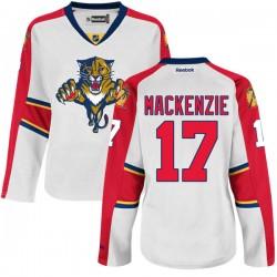 Premier Reebok Women's Derek Mackenzie Away Jersey - NHL 17 Florida Panthers
