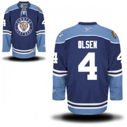 Authentic Reebok Adult Dylan Olsen Alternate Jersey - NHL 4 Florida Panthers