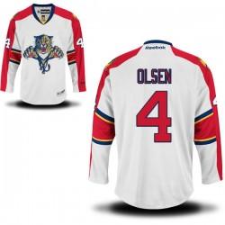 Premier Reebok Adult Dylan Olsen Away Jersey - NHL 4 Florida Panthers