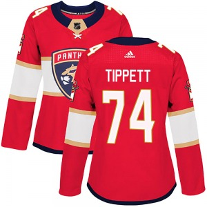 Authentic Adidas Women's Owen Tippett Red ized Home Jersey - NHL Florida Panthers