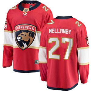 Breakaway Fanatics Branded Adult Scott Mellanby Red Home Jersey - NHL Florida Panthers