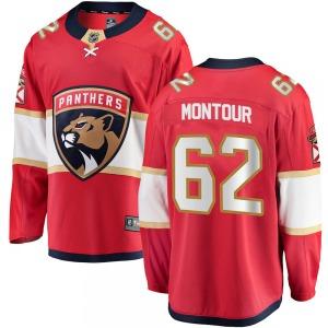 Breakaway Fanatics Branded Adult Brandon Montour Red Home Jersey - NHL Florida Panthers