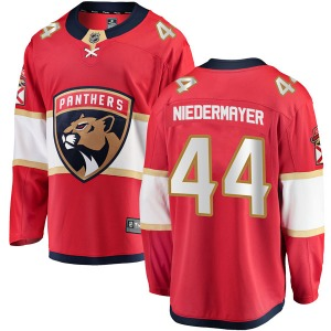 Breakaway Fanatics Branded Adult Rob Niedermayer Red Home Jersey - NHL Florida Panthers