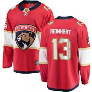 Breakaway Fanatics Branded Adult Sam Reinhart Red Home Jersey - NHL Florida Panthers