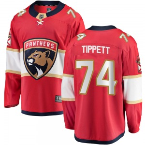 Breakaway Fanatics Branded Adult Owen Tippett Red ized Home Jersey - NHL Florida Panthers