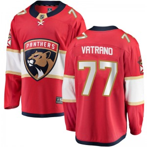Breakaway Fanatics Branded Adult Frank Vatrano Red Home Jersey - NHL Florida Panthers