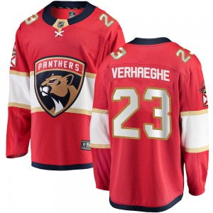 Breakaway Fanatics Branded Adult Carter Verhaeghe Red Home Jersey - NHL Florida Panthers