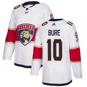 Authentic Adidas Youth Pavel Bure White Away Jersey - NHL Florida Panthers