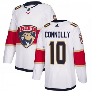 Authentic Adidas Youth Brett Connolly White Away Jersey - NHL Florida Panthers