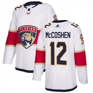Authentic Adidas Youth Ian McCoshen White Away Jersey - NHL Florida Panthers