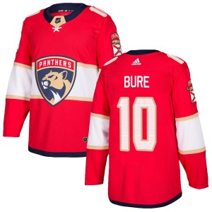 Authentic Adidas Youth Pavel Bure Red Home Jersey - NHL Florida Panthers