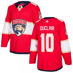 Authentic Adidas Youth Anthony Duclair Red Home Jersey - NHL Florida Panthers