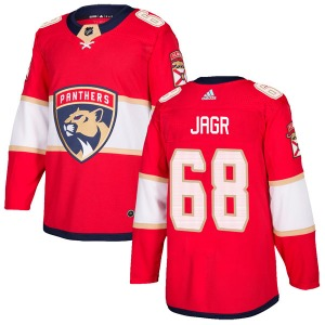 Authentic Adidas Youth Jaromir Jagr Red Home Jersey - NHL Florida Panthers