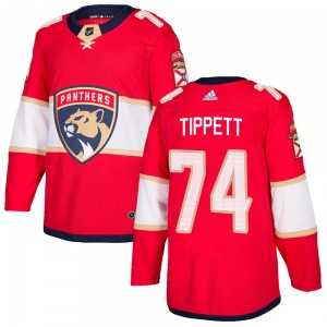 Authentic Adidas Youth Owen Tippett Red ized Home Jersey - NHL Florida Panthers