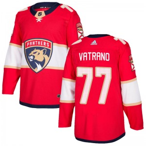 Authentic Adidas Youth Frank Vatrano Red Home Jersey - NHL Florida Panthers
