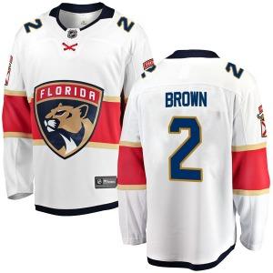 Breakaway Fanatics Branded Youth Josh Brown White Away Jersey - NHL Florida Panthers