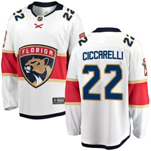 Breakaway Fanatics Branded Youth Dino Ciccarelli White Away Jersey - NHL Florida Panthers