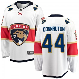 Breakaway Fanatics Branded Youth Kevin Connauton White Away Jersey - NHL Florida Panthers