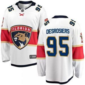 Breakaway Fanatics Branded Youth Philippe Desrosiers White Away Jersey - NHL Florida Panthers