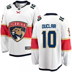 Breakaway Fanatics Branded Youth Anthony Duclair White Away Jersey - NHL Florida Panthers