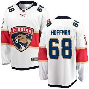 Breakaway Fanatics Branded Youth Mike Hoffman White Away Jersey - NHL Florida Panthers