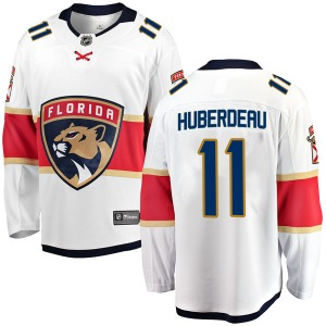 Breakaway Fanatics Branded Youth Jonathan Huberdeau White Away Jersey - NHL Florida Panthers