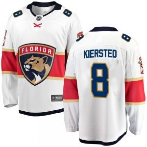 Breakaway Fanatics Branded Youth Matt Kiersted White Away Jersey - NHL Florida Panthers