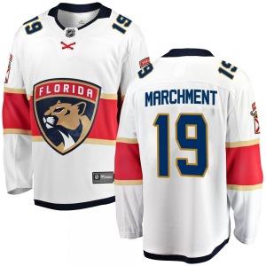 Breakaway Fanatics Branded Youth Mason Marchment White Away Jersey - NHL Florida Panthers